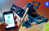 Aplicación Android para controlar un Robot de 3DPrinted