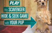 """Juego de """"Esconder y buscar"""" limpiador de perros"""
