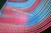Venta transparente pantalla de tira de LED con ultra delgado cuerpo y sharp brillo contacto: kallen@huasun-tech.com