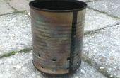 Sopa puede sendero estufa (madera accionado)