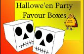 ¿Caja Halloween calavera favor