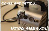 Cubrir cualquier tatuaje con aerógrafo!