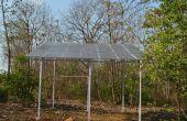 Bomba de agua solar