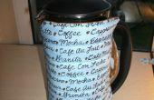 Cómo hacer un acogedor café de Acolchado Reversible