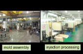 Proceso de diseño de moldes de inyección y fabricación de
