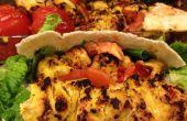 Cómo cocinar pollo auténtico Kebab