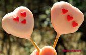 Corazón en corazón Cake Pops