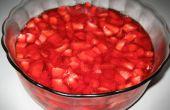 Cómo hacer una ensalada de frutas deliciosa gelatina