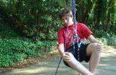 Cómo subir un árbol (usando sólo cuerda!) la manera de diversión o simple