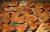 Chips de Pita de azúcar canela