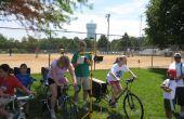 Bicicleta eléctrica para generador electrico - Museo de ciencia interactivo móvil Simple DIY