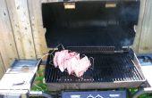 Barbacoa héroe - lento cocinar, fumar, protectores de calor y la salsa bares