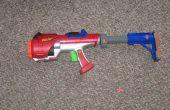 Hyperfire Nerf dart tag stock y grip mod