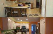 Renovación de la cocina con un presupuesto