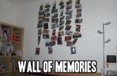 Pared de recuerdos