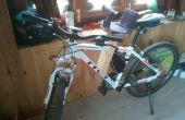 MADERA niño de la bici / bicicleta asiento