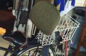 Silla de resto de escritorio antiguo asiento de bicicleta