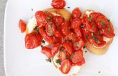 Tostada de tomate y Ricotta Crostini