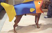 Cómo convertir a su perro en un pez para Halloween