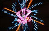 N00tron 3D esférico Display volumétrico - exposición interactiva