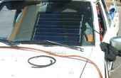 Solar cargador de batería de coche DIY
