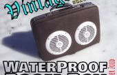 Vintage impermeable Boom Box