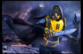 Construir destino cazador máscara y armadura Cosplay - SKS Props