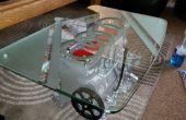 VW motor mesa con luces y vidrios