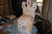 Castillo de Toadstool Toybox silla Playset