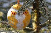 Julekuler - bolas de Navidad de punto