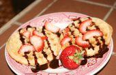 Waffles de apuro doble