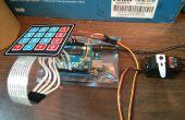 Arduino, control de acceso de teclado menos resistencia