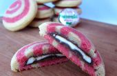 Peppermint Patty relleno menta Cookies