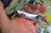 Señuelos de pesca de tubo de conducto DIY de ciento diez