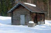 Construcción de una Sauna al aire libre