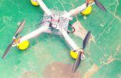 DIY-puesta en marcha con DRONES (con calibración remota)
