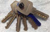 Organizador de llaves más barato (Flexible para agregar y quitar)