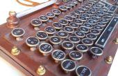 Mi versión de teclado Steampunk