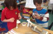 Rube Goldberg mármol inspirado Roll - 1er grado jugando - semana 8