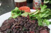 Brasileño negro frijoles con chorizo
