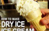 """Cómo hacer helado de carbonatadas, """"estilo Halloween""""! (Crema de hielo seco) ¿"""