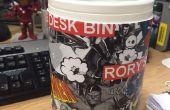 100% reciclado escritorio Bin