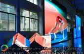 Exhibición de LED al aire libre de la marca china famosa