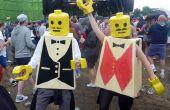 Él y ella LEGO disfraces