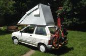 Festfalia, un Ford Festiva Flip Top Miler Hyper Camper