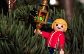 Indicador de nivel de agua increíblemente lindo árbol de Navidad
