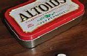 Una lata Altoids sello protector + más