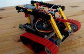 Coche tanque LEGO, arduino conoce android