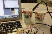 Sensor de temperatura con LED
