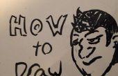 Cómo dibujar una cara básica